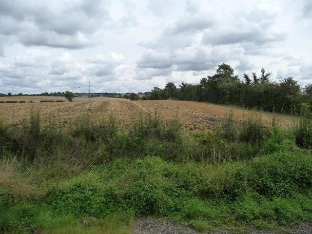 Farmland west of Pathlow Farm