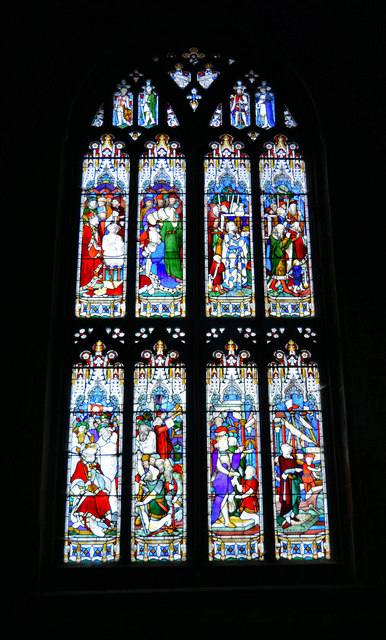 The Legend of Lucius, Gloucester Cathedral