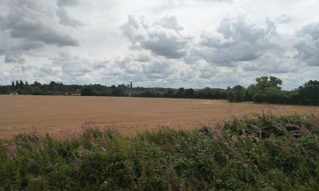 Farmland north-west of Bearley