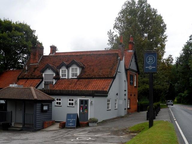 The British Larder restaurant