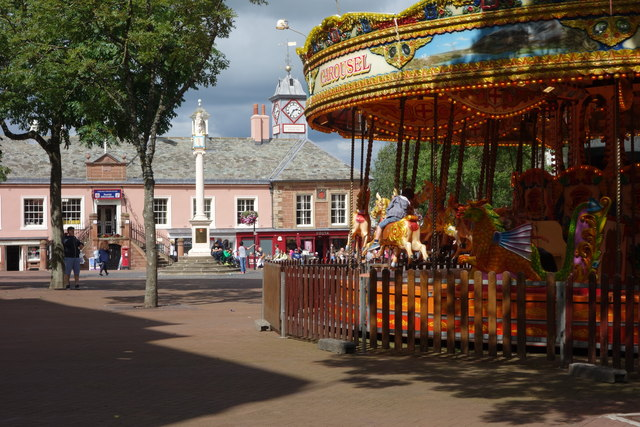 A Carousel in Market Square