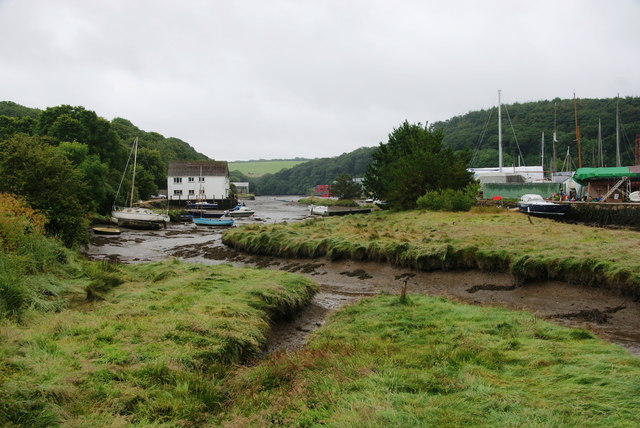 The Helford River in Gweek