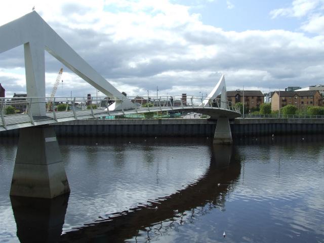 The Tradeston Bridge