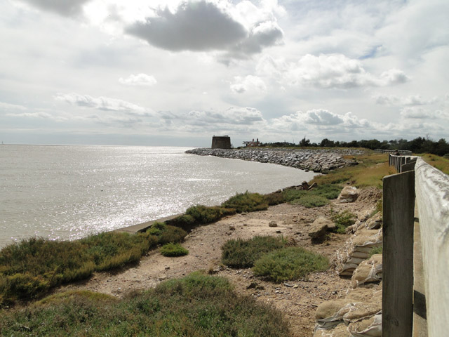 Martello tower 'W' on Bawdsey point