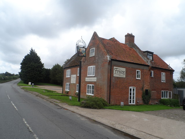 The Froize restaurant, Chillesford