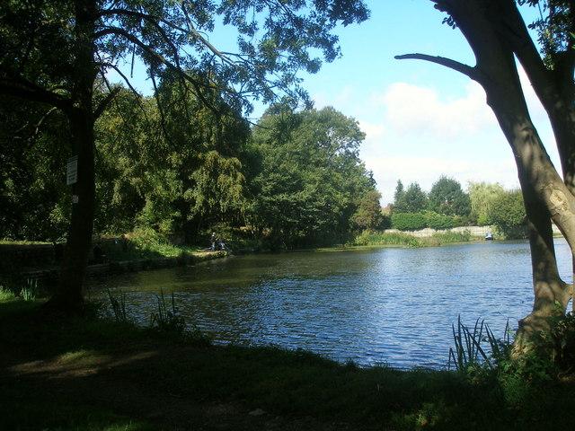 Fishing lake at Birstall