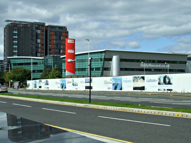 The Daily Record building