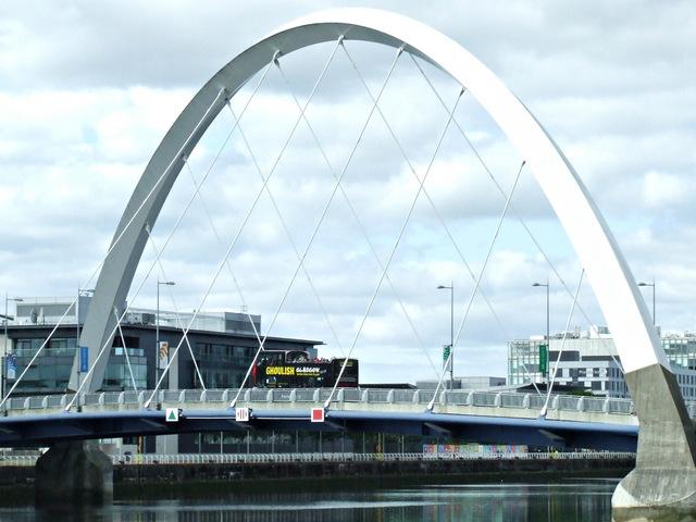 The Clyde Arc bridge