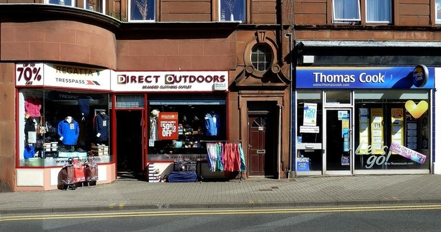Shops in Girvan