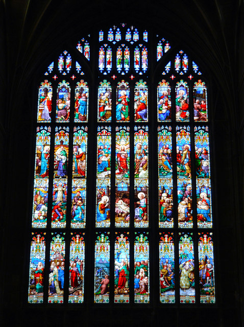 The West Window, Gloucester Cathedral