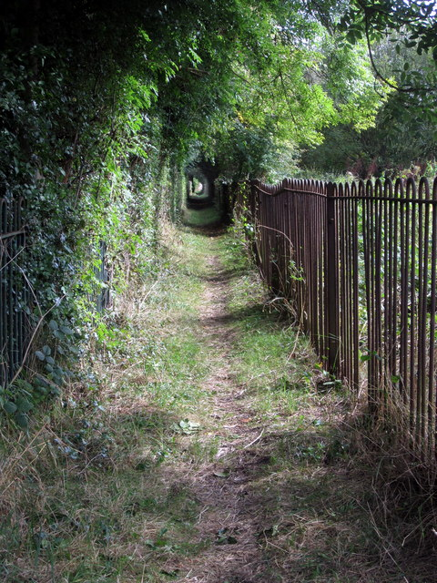 Footpath to Gorsey Leys