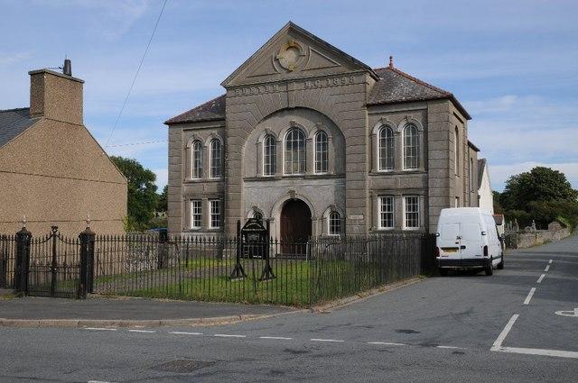 Presbyterian church in Groesffordd