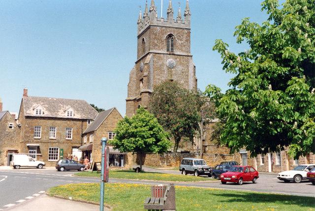 Deddington: Church of St Peter & St Paul, 1992
