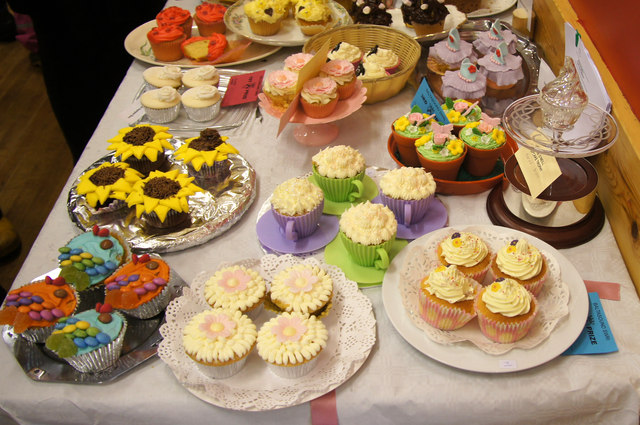 Cupcakes at the Unst Show, Haroldswick