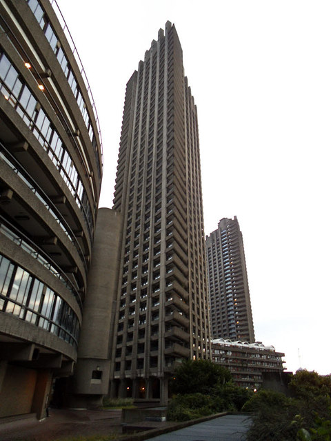 Barbican tour: Shakespeare and Lauderdale towers