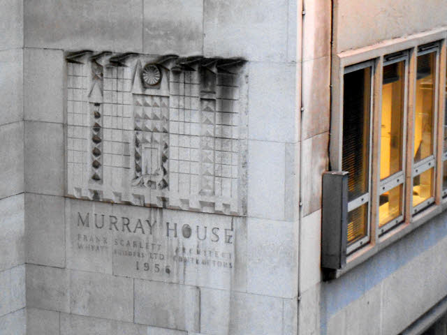 Murray House inscription