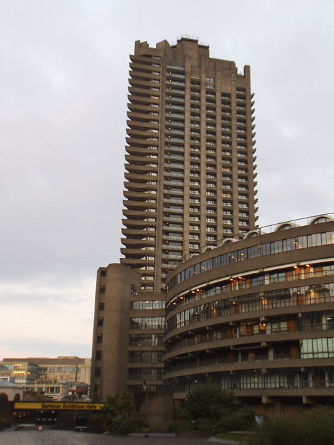 Barbican tour: Cromwell Tower