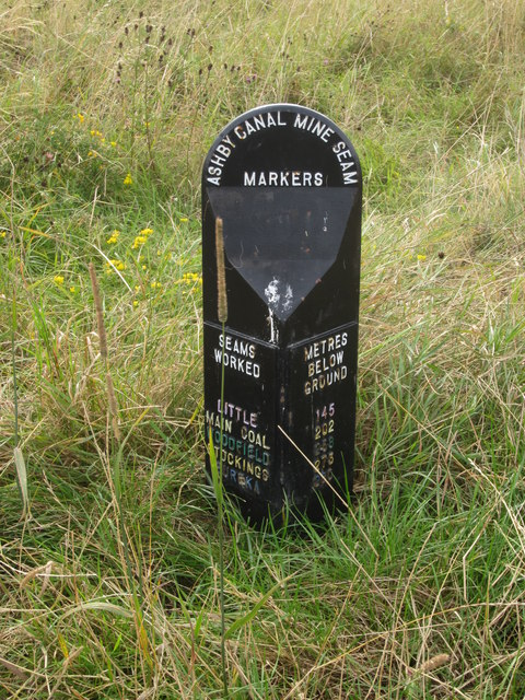 Ashby Canal Mine Seam Marker