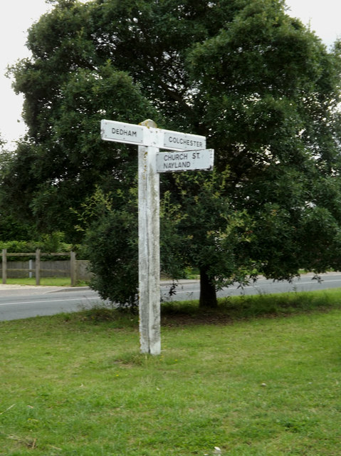 Roadsign on Cookes Hill