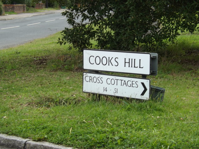 Cookes Hill sign