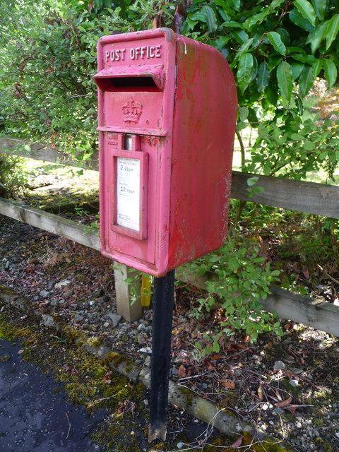 Brig O' Turk: postbox № FK17 89