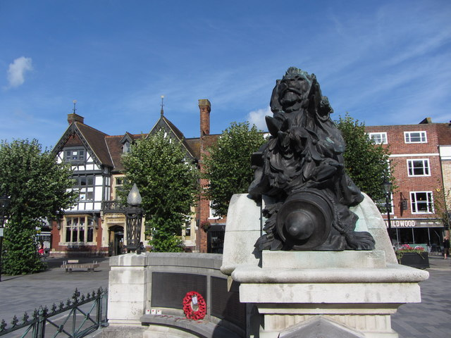 War memorial in Salisbury