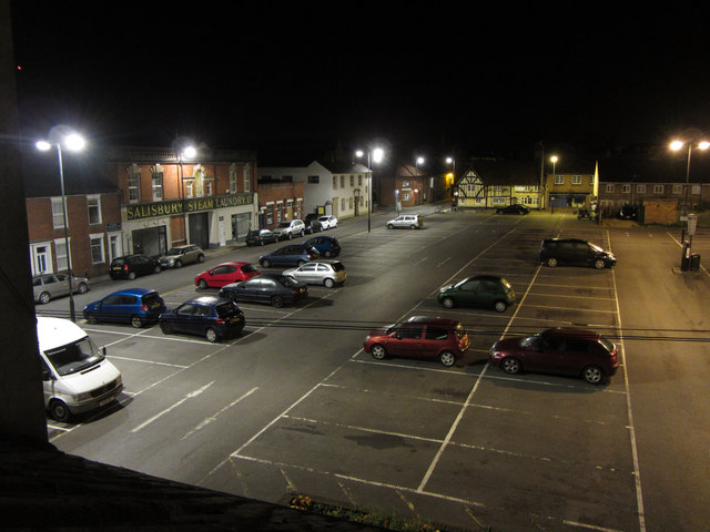 Salt Lane car park, Salisbury
