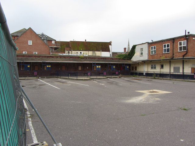 Salisbury's closed bus station