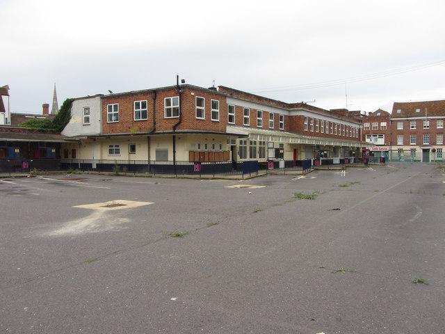 Salisbury's closed bus station