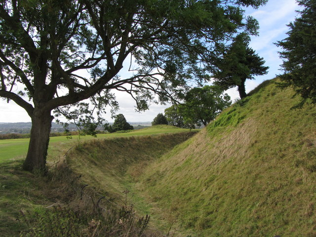 Old Sarum ditch