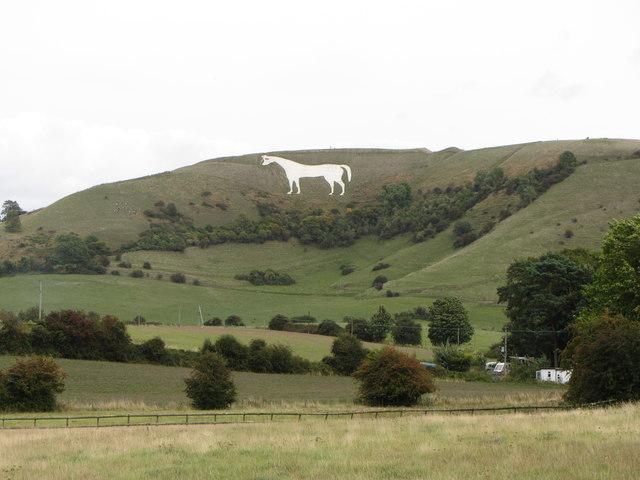 View towards Westbury White Horse