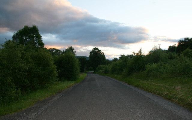 B847 in evening light