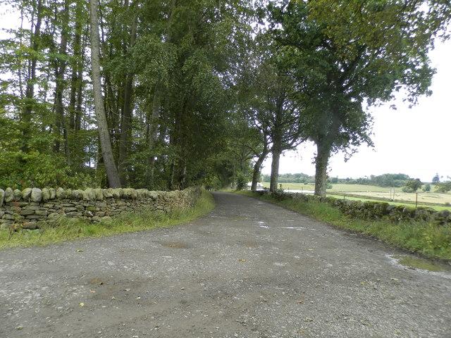 Driveway to Snaigow Farm