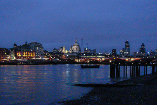 The Thames and St. Paul's