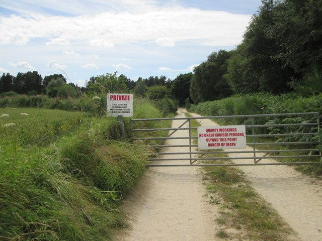 Entrance  to  Quarry