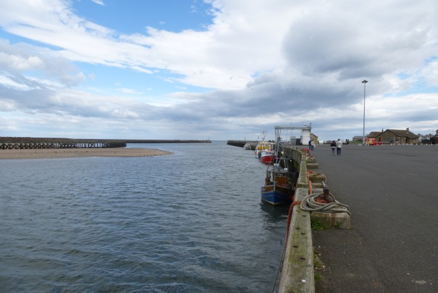 Amble south jetty