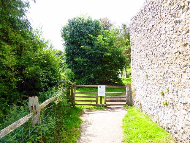 Tapsel Gate near Jevington Church