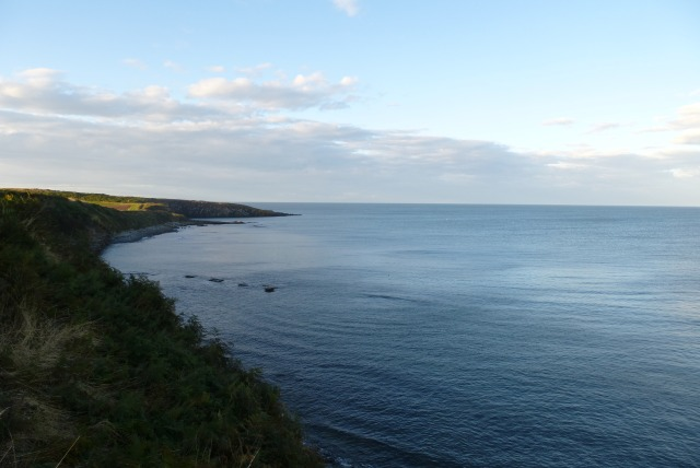 Towards Cullernose Point