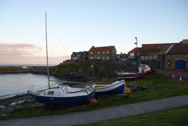 Boats at Craster