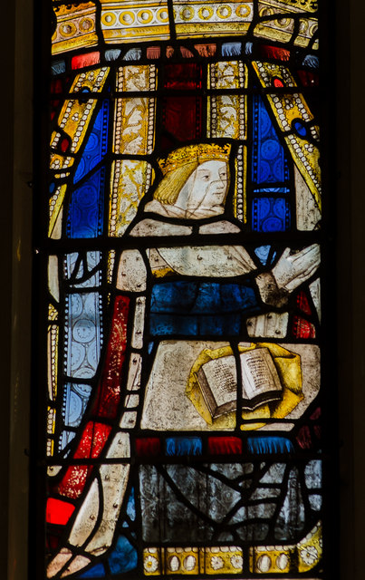 Edward Prince of Wales window, Little Malvern Priory