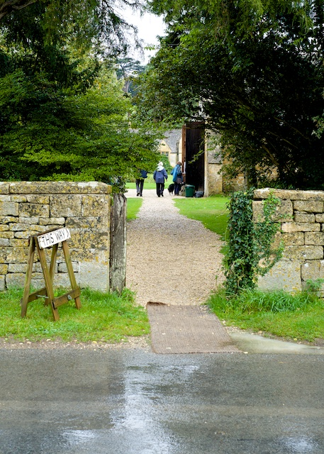 Stanway House Public Day Entrance