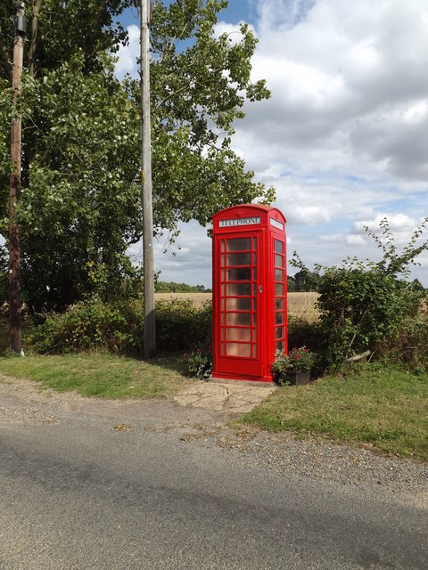 Telephone Box on Dedham Road