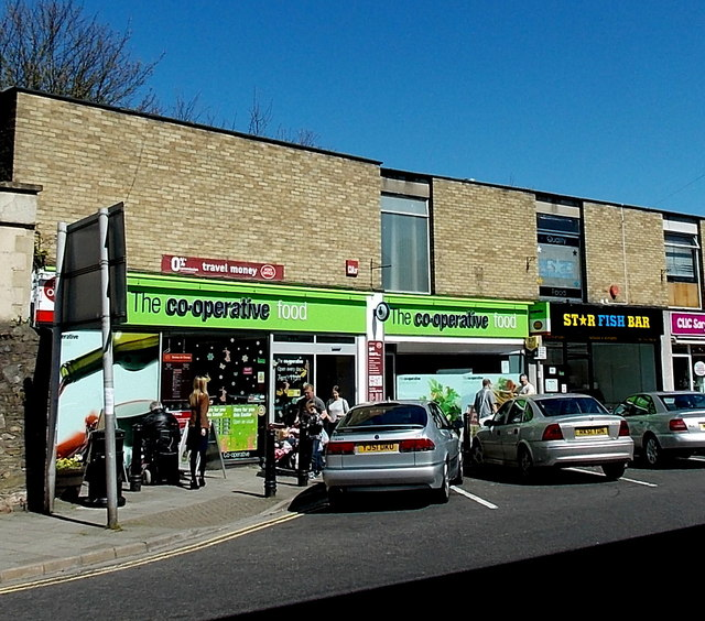 The Co-operative Food store and post office in Clevedon