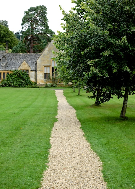 Stanway House Stone Path