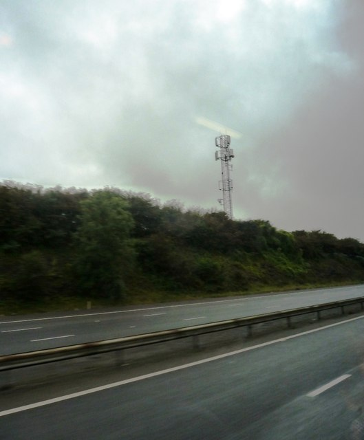 M4 near Llanharry