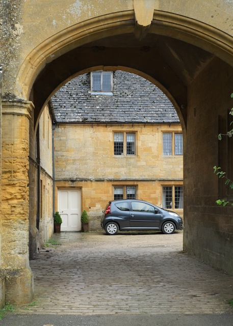 Stanway House Entrance Arch to Rear of the House