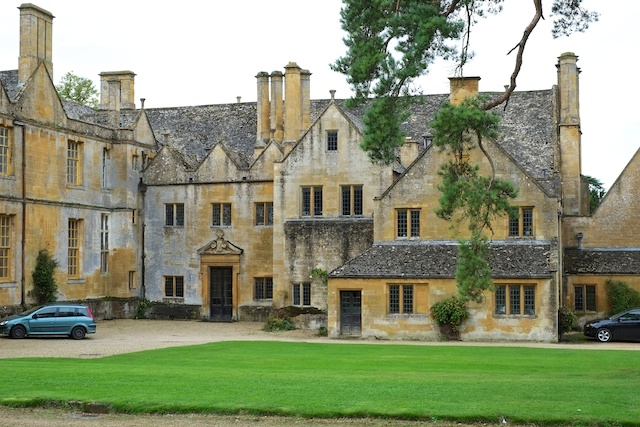Stanway House Formal Rear Entrance and Rear elevation