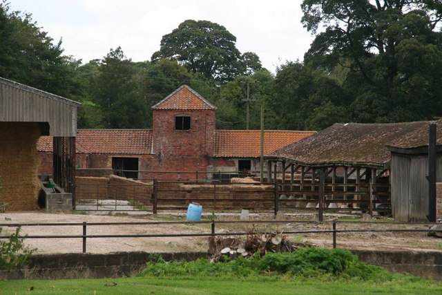Farm buildings at Cuxwold