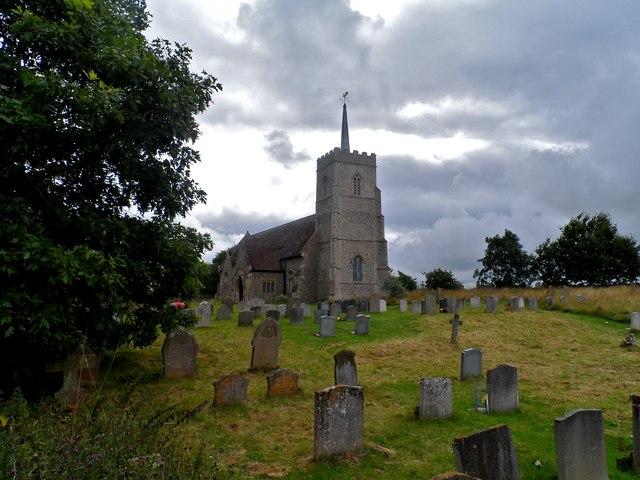 All Saints' church, Sudbourne