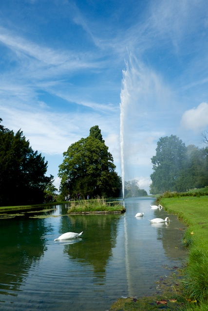Stanway House Jet Fountain